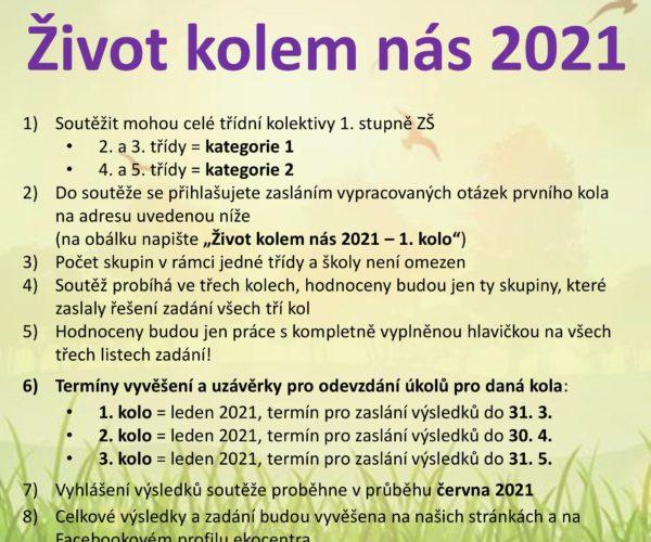 Soutěž Život kolem nás 2021